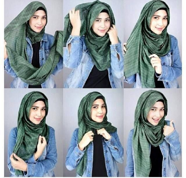 Chic-Style-Hijab-Tutorial How to Wear Hijab Step by Step Tutorial in 15 Styles