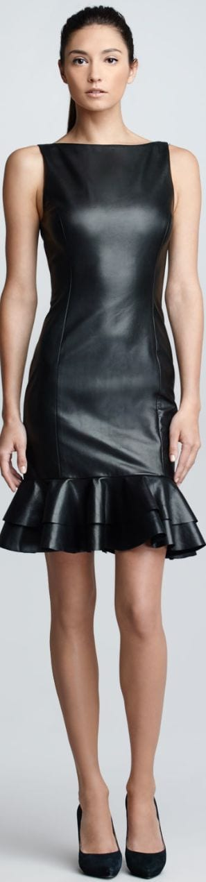 Cute Leather Dresses