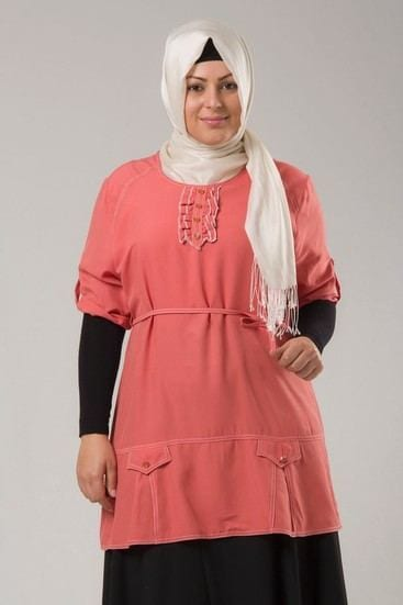 Hijab-Fashion-Curvy-women1 18 Popular Hijab Fashion Ideas for Plus Size Women