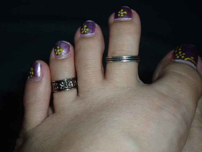 Multi Toe Rings