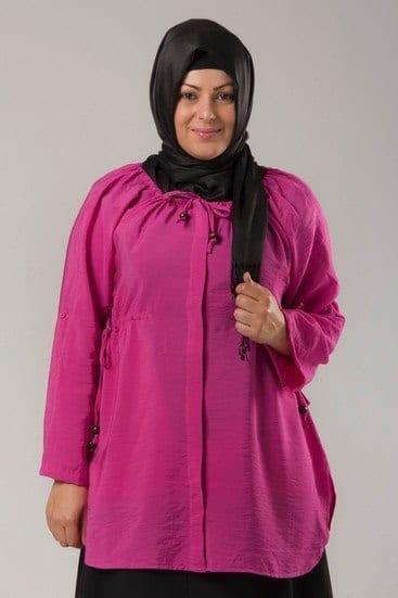 Plus-size-Hijab-Fashion 18 Popular Hijab Fashion Ideas for Plus Size Women