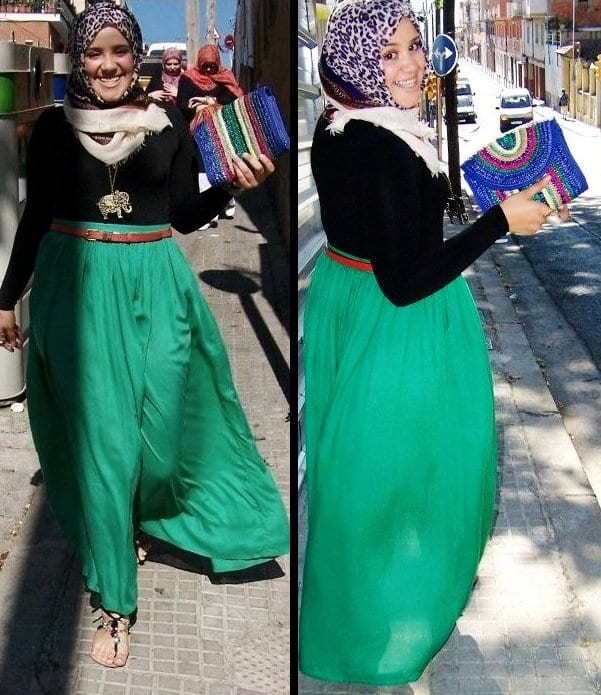 Plus sized Hijabi women