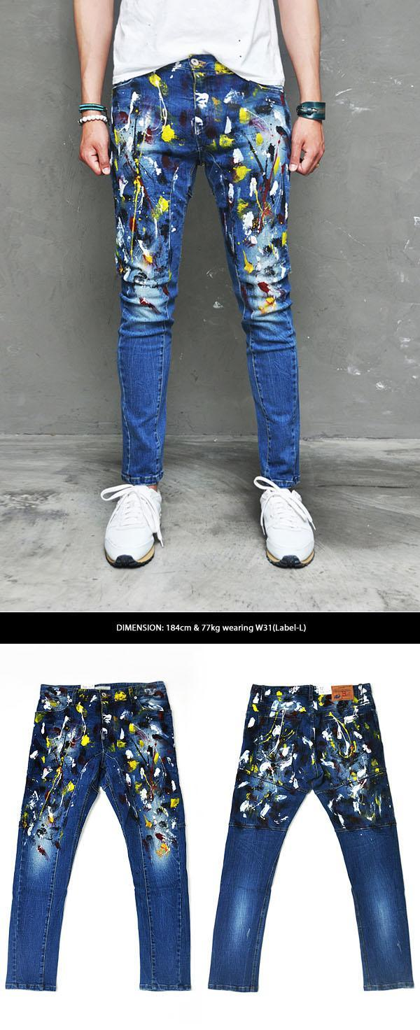 Printed Funky Jeans Boys