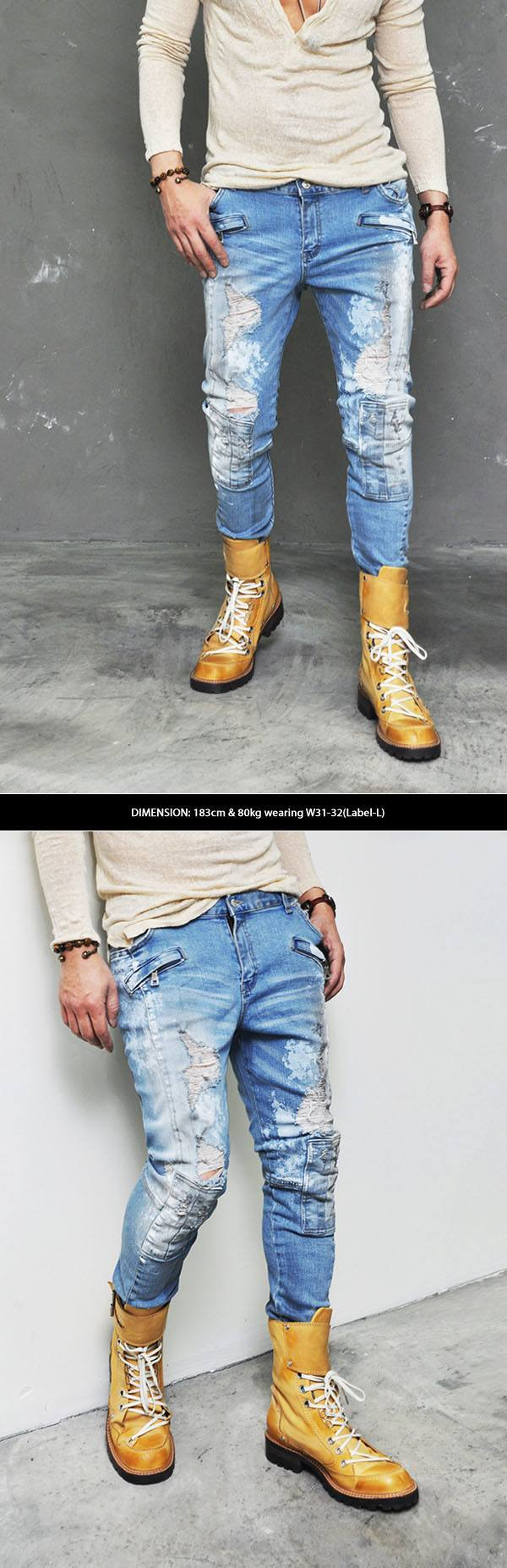 Rough Jeans for Boys