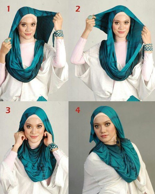 Side-Updo-Black-Girls1 How to Wear Hijab Step by Step Tutorial in 15 Styles
