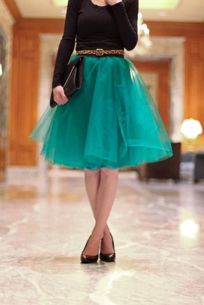 Tulle-Skirt How to Wear Tulle Skirt?15 Cute Outfits with Tulle Skirts