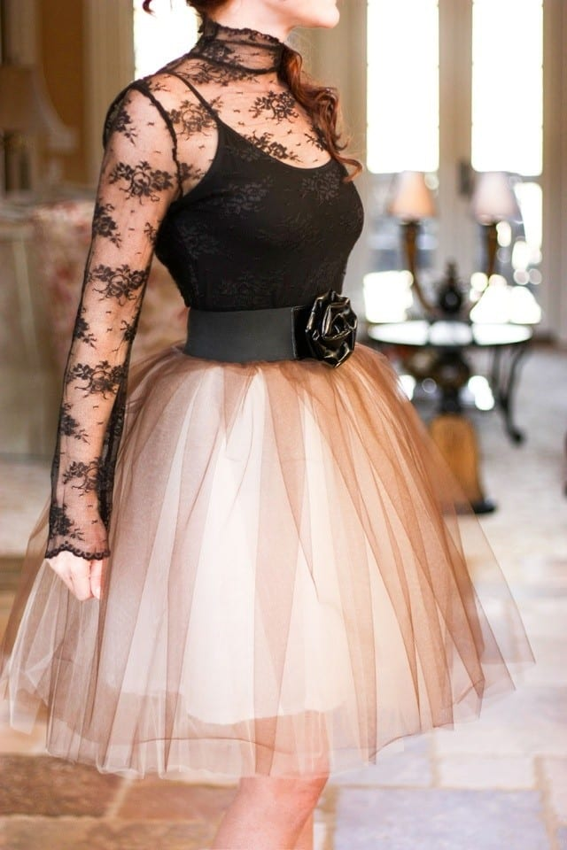 Tulle-Skirts-for-Wedding How to Wear Tulle Skirt?15 Cute Outfits with Tulle Skirts