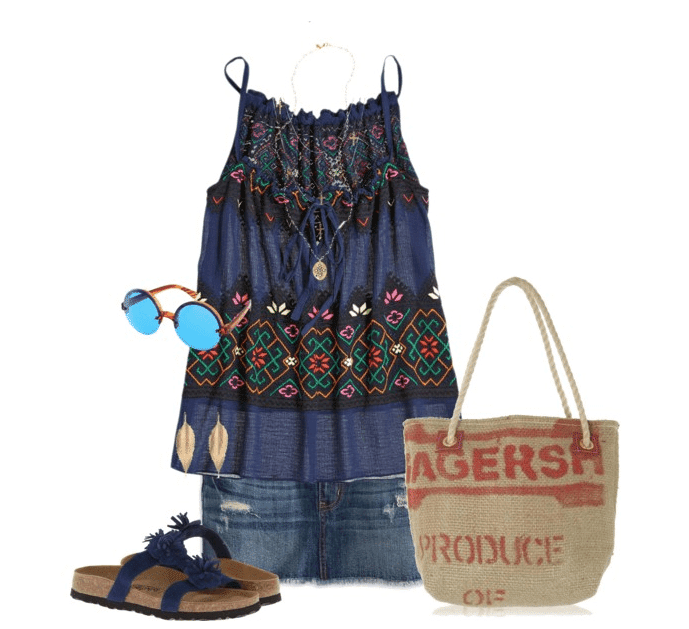 bohemian outfit