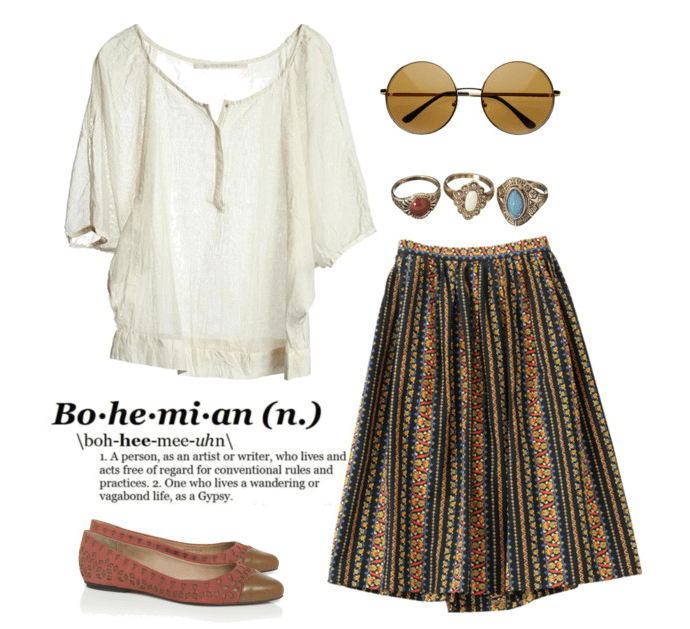 bohemian-outfits-for-women 12 Chic Style Bohemian Outfits Combinations for this Season