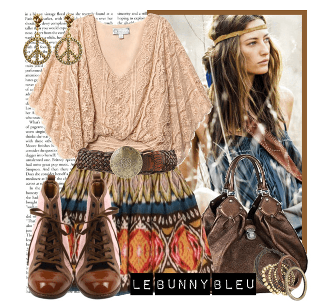 casual-bohemian-style 12 Chic Style Bohemian Outfits Combinations for this Season