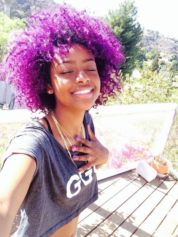 funky-hair-for-black-teenage-girls 20 Cute Hairstyles for Black Teenage Girls