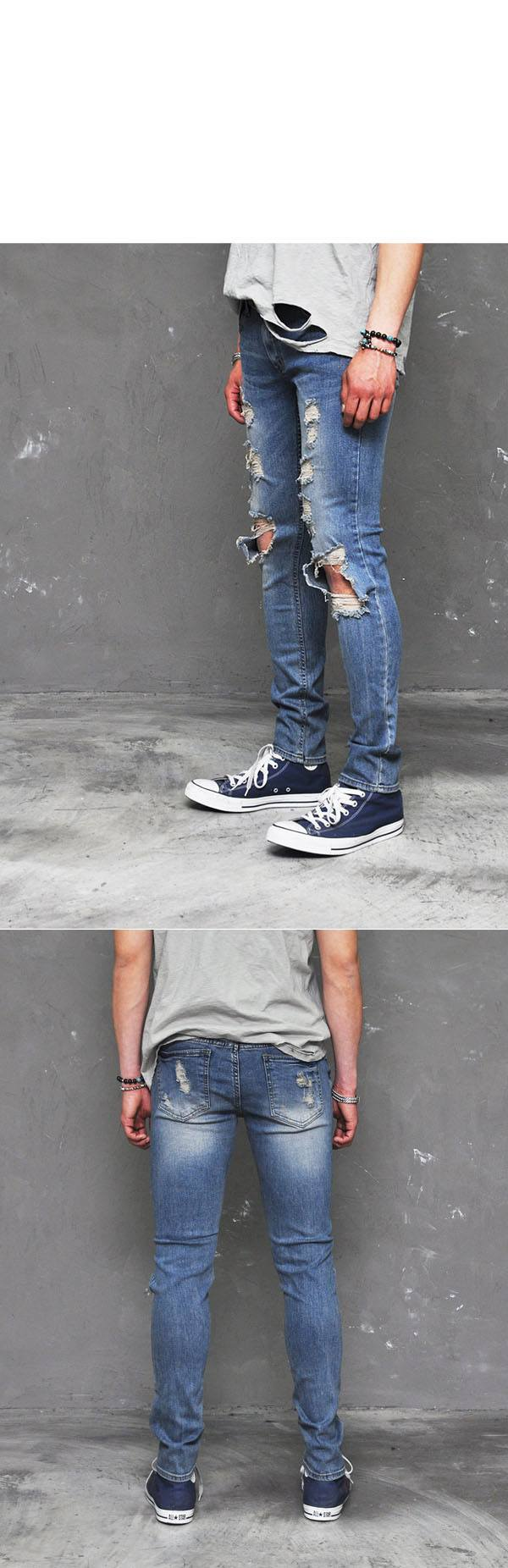 funky jeans for skinny boys