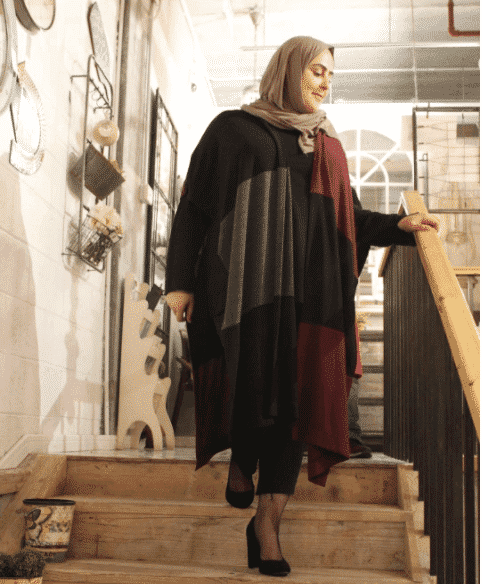 heels-for-hijabis 18 Popular Hijab Fashion Ideas for Plus Size Women