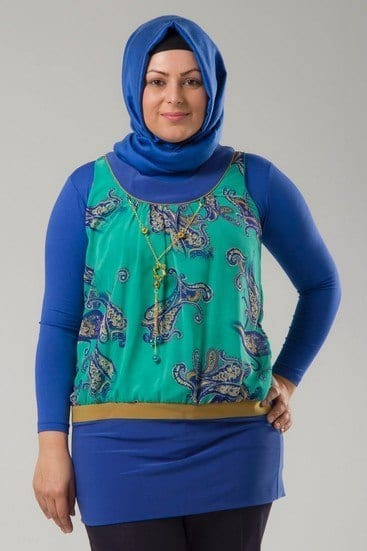 hijab plus size clothing