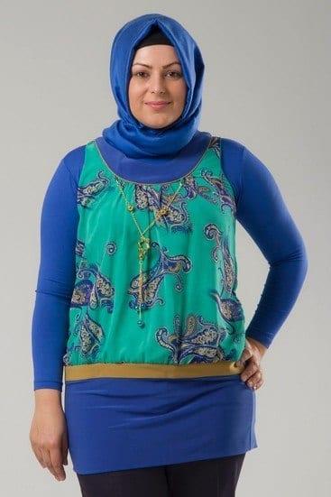 hijab-plus-size-clothing 18 Popular Hijab Fashion Ideas for Plus Size Women