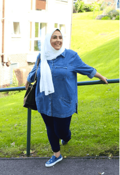 hijab-style-for-plus-size-hijabis 18 Popular Hijab Fashion Ideas for Plus Size Women