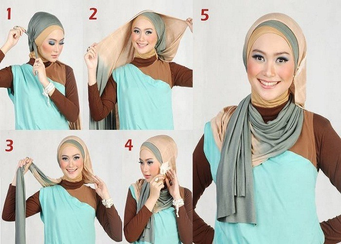 hijab-tutorial-Easy How to Wear Hijab Step by Step Tutorial in 15 Styles