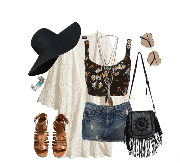 hippie-bohemian-style 12 Chic Style Bohemian Outfits Combinations for this Season