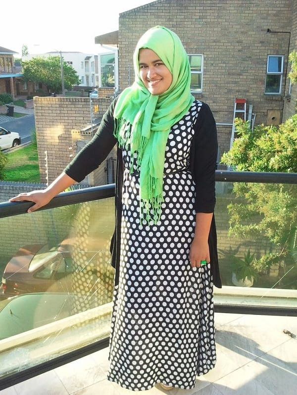 how to wear hijab Plus size women
