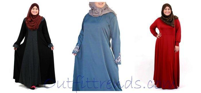 14 Stylish Abaya's for Curvy Women- Plus Size Abaya Designs