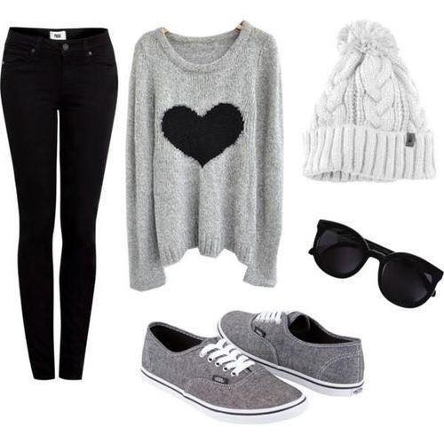2015-winter-outfits-young-girls Cute Winter Outfits Teenage Girls-17 Hot Winter Fashion Ideas