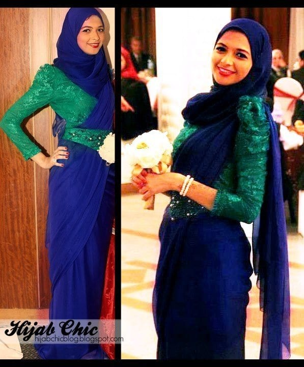 Best-Saree-style-for-muslims 8 Best Saree Styles for Muslims-Stylish Hijab with Saree Ideas