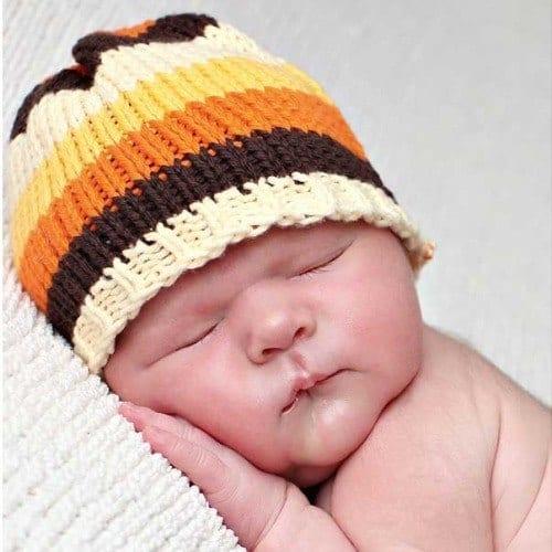 Childrens-Crochet-Cap-Patterns Cute Beanie Hats for Babies-17 Amazing Crochet Hats Patterns