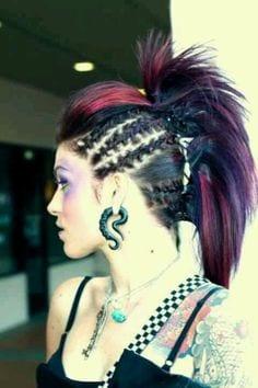 Crazy hairstyles Teenage girls