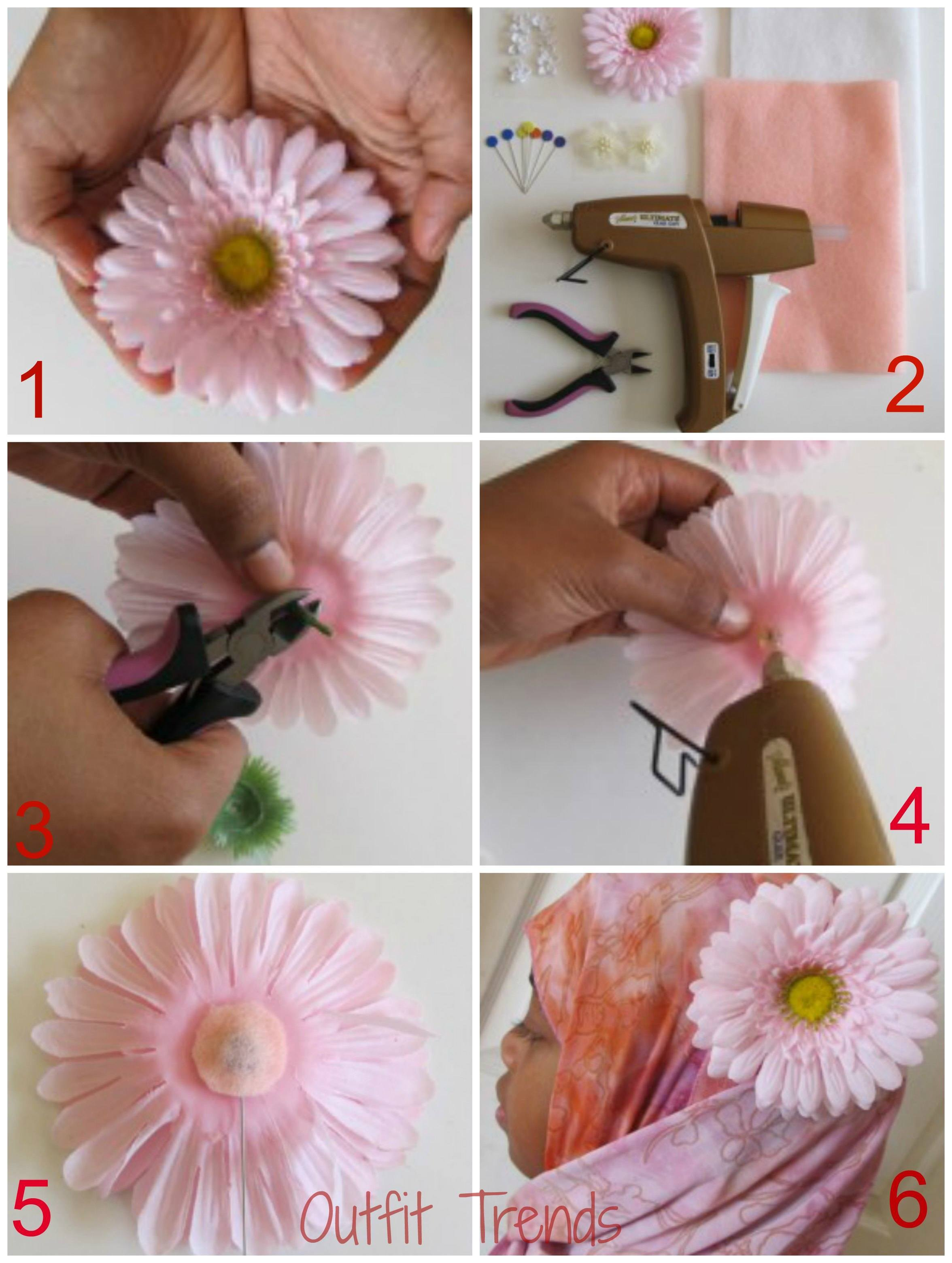 DIY Hijab Accessories Tutorial