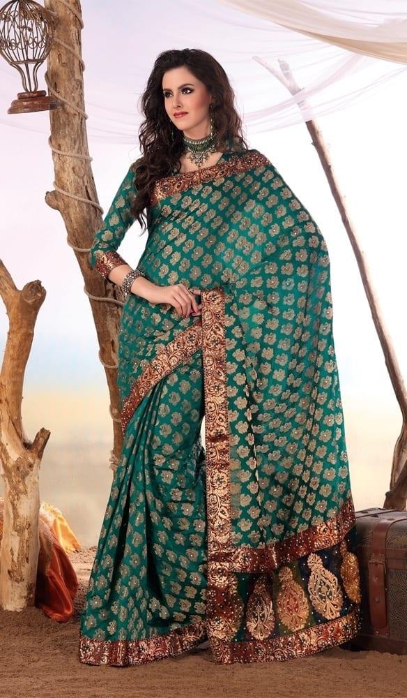 Designers sarees trends