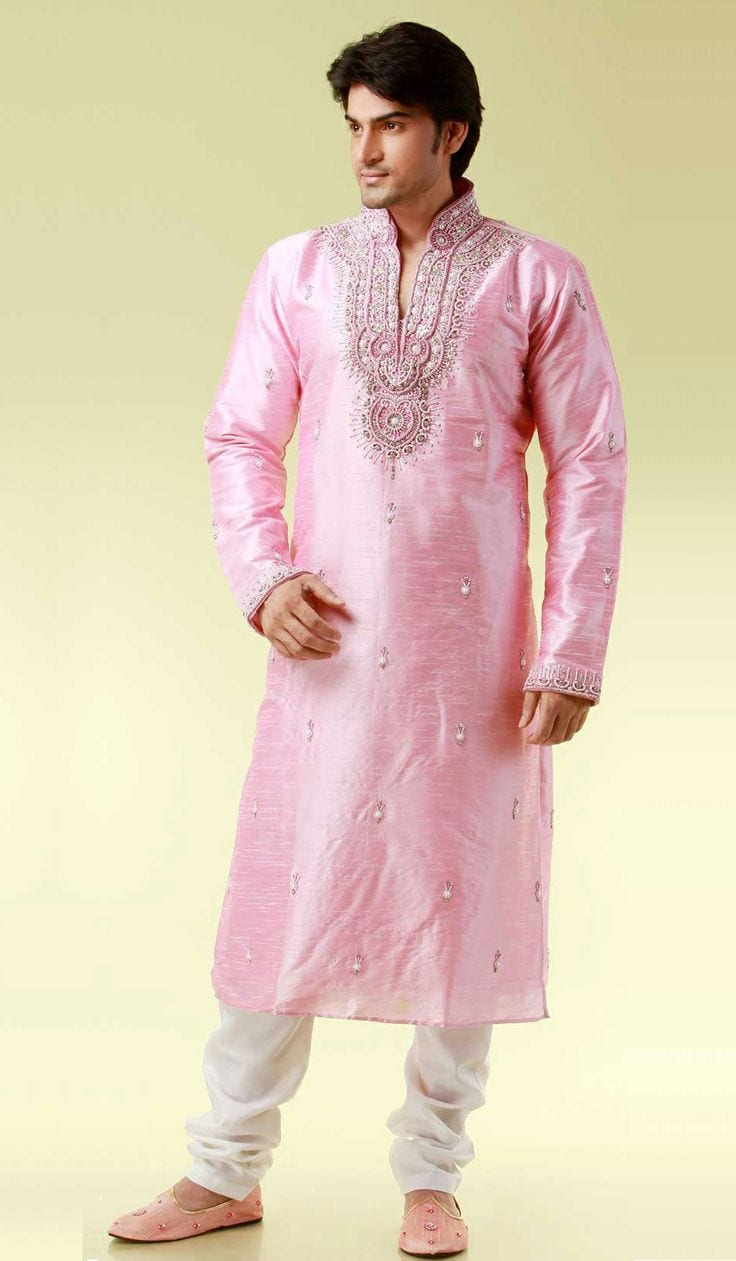 12 Latest Style Fancy Embroidered Kurtas for Men This Season