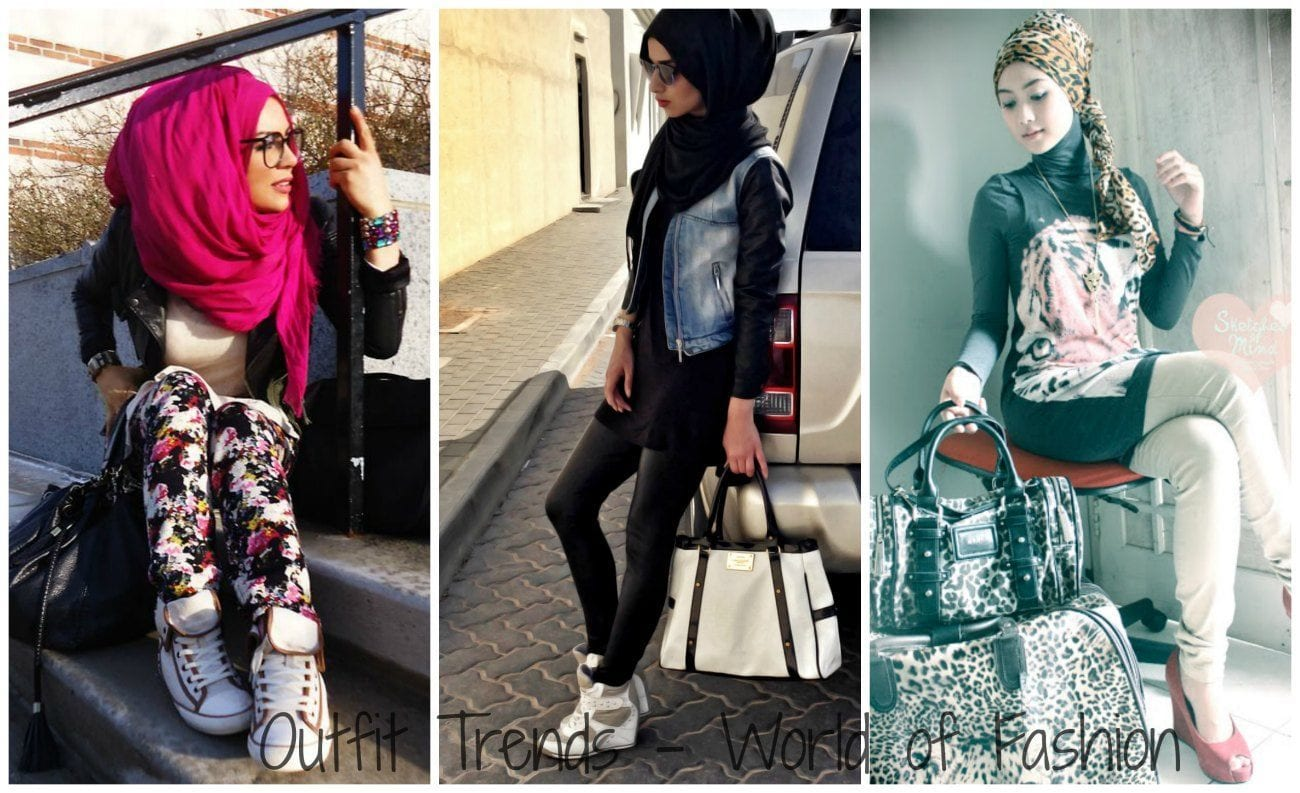 Funky Hijab Fashion