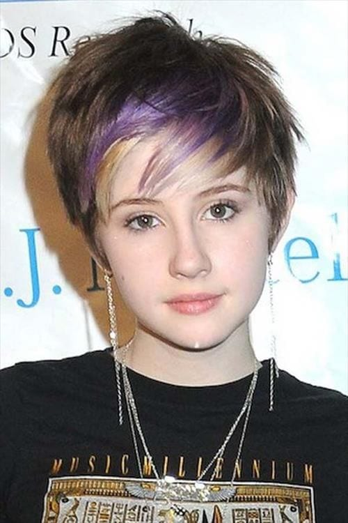 Funky hairstyles for teenage girls short hairs