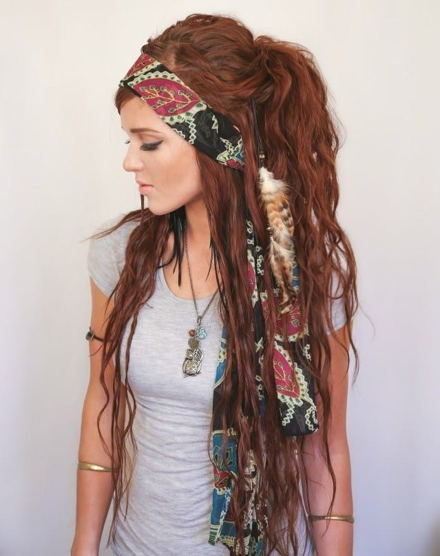 Gypsy Hairstyle for teenagers