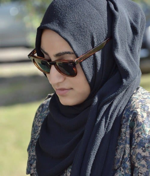 Hijab-glasses-tumblr Hijab With Glasses-17 Ideas to Wear Sunglasses with Hijab
