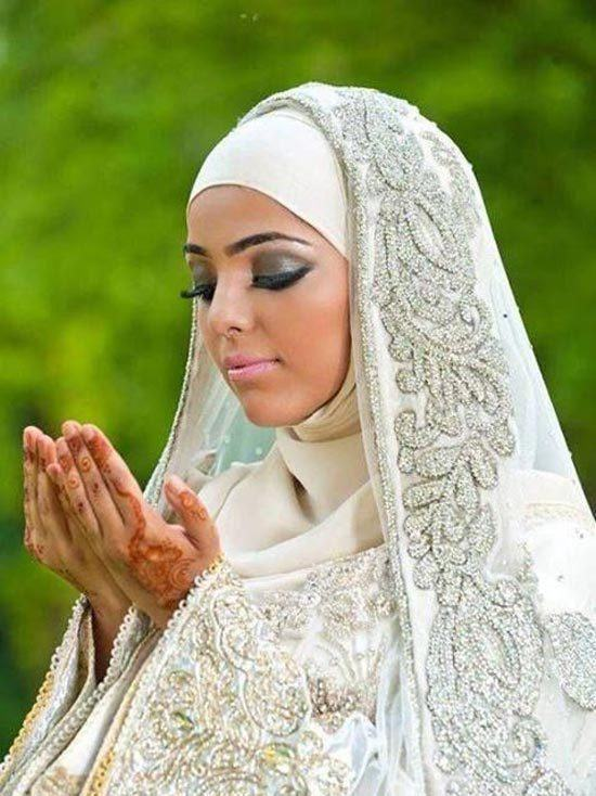 Hijab wedding Veil