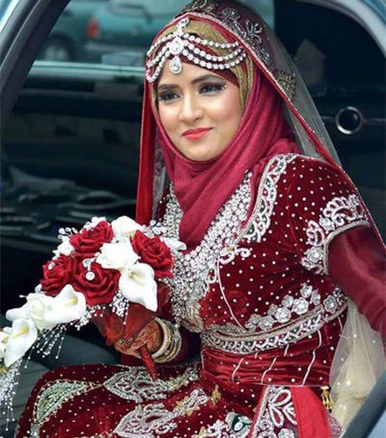 Hijab wedding outfits