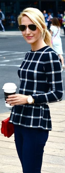 How-to-wear-Peplum-top How to Wear Peplum Tops in Winter - 15 Stylish Outfit Ideas