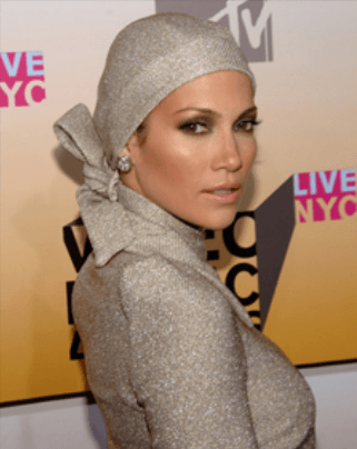 Jlo-in-Hijab Top 10 Non Muslim Celebrities in Hijab:Hollywood Celebrities in Hijab