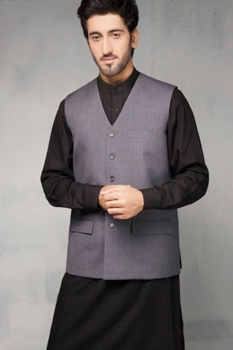 Latest men shalwar kameez waist coat fashion