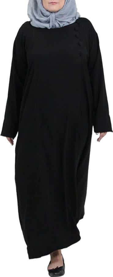 Latest plus size abaya fashion