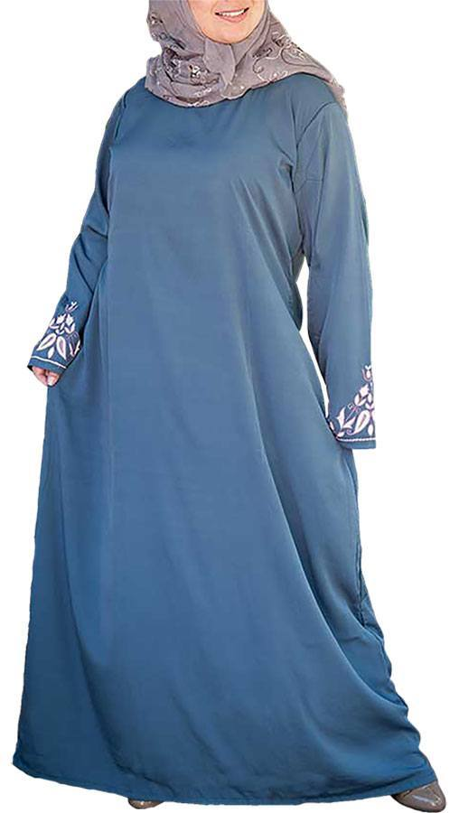 Plus-size-Abaya-Designs Plus Size Abaya Fashion-14 Stylish Abaya's for Curvy Women
