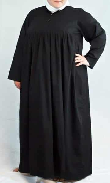 Plus-size-abaya-style Plus Size Abaya Fashion-14 Stylish Abaya's for Curvy Women