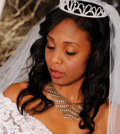 Stylish-Makeup-for-Black-girls-wedding Top 10 Bridal Makeup Ideas For Black Women for Stunning Look