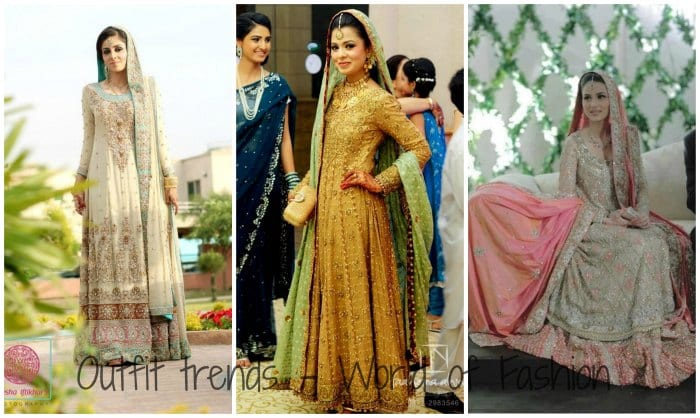 Stylish Pakistani Bridal Dresses