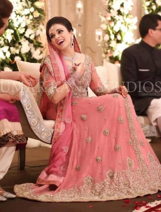 Stylish Wedding Dresses for Pakistani Girls