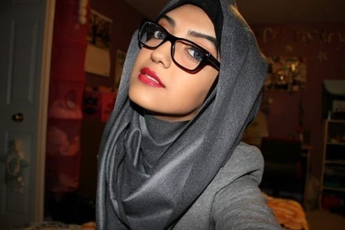 Teenage-hijab-girls Hijab With Glasses-17 Ideas to Wear Sunglasses with Hijab
