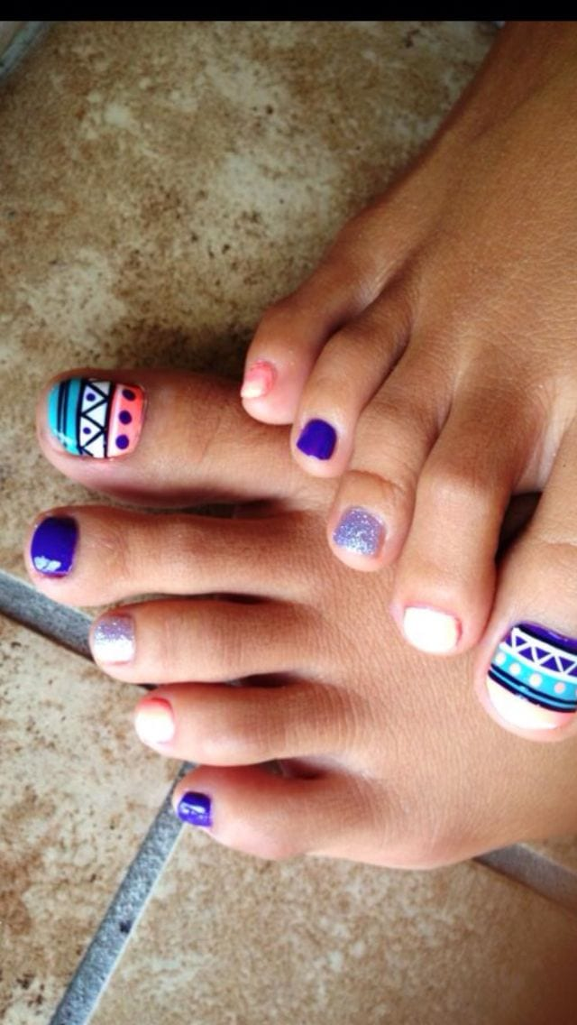Toe Nail Designs Easy Do