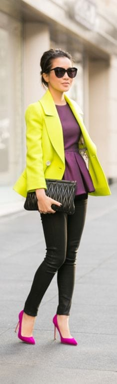Ways-To-Wear-A-Peplum How to Wear Peplum Tops in Winter - 15 Stylish Outfit Ideas