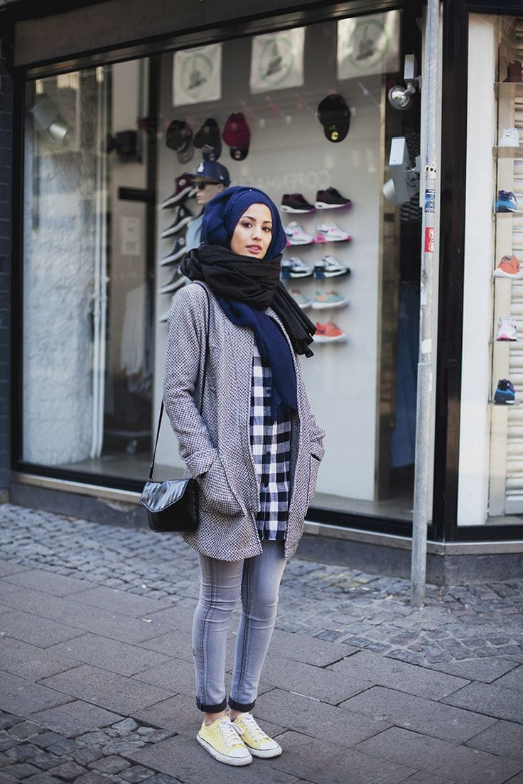 Winter hijab Trends